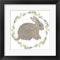 Framed Happy Bunny Day I