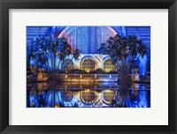 Framed Botanical Building Reflections