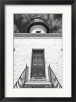 Framed Front Door, Old Point Loma Lighthouse