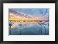 Framed Perfectly Calm Sunset, San Diego