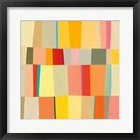 Sunshine Stripes III Framed Print