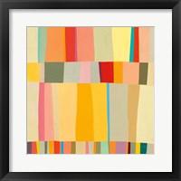 Sunshine Stripes II Framed Print