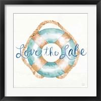 Framed Lake Love VI
