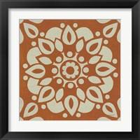 Framed Terra Cotta Tile II