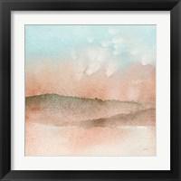 Framed Desert Landscape I