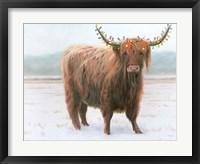 Framed King of the Highland Fields Lights Crop