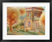 Framed Summer Cabin