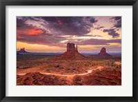 Framed Desert Song