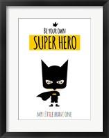 Framed Superhero One