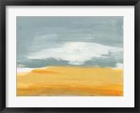 Framed Winter Desert