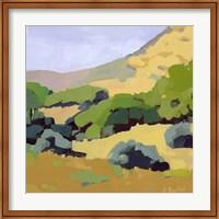 Framed Hillside