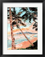 Framed Paradise Palms