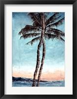 Framed Sunset Palms