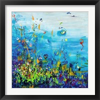 Framed Fleur de Mer