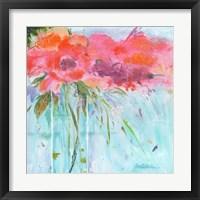 Framed Heart Bouquet Composition