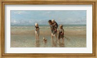 Framed Children of the Sea, 1872
