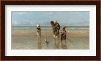 Framed Children of the Sea, 1872