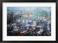 Framed Fisherman's Wharf