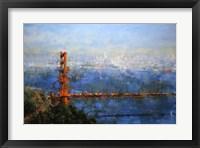 Framed Golden Gate Afternoon