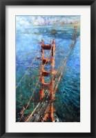 Framed Golden Gate Sun
