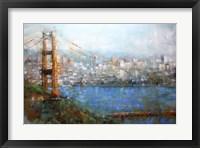 Framed Golden Gate Vista
