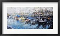Framed San Francisco Wharf