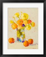 Framed Yellows and Oranges