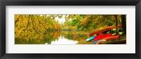 Framed Autumn Fleet