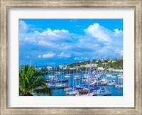 Framed Oyster Pond Bay, St. Maarten