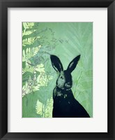 Framed Cheeky Rabbit