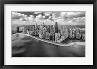 Framed Chicago Gold Coast Panoramic