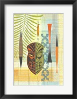 Framed Tiki Warrior No. 1