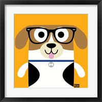 Framed Bow Wow Beagle