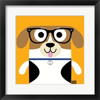Framed Bow Wow Beagle