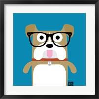 Framed Bow Wow Bulldog