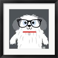 Framed Bow Wow Sheepdog