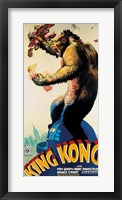 Framed King Kong - Profile