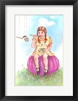 Framed Little Miss Muffet