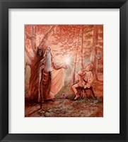 Framed Merlin And The Boy Arthur