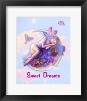 Framed Sweet Dreams Fairy