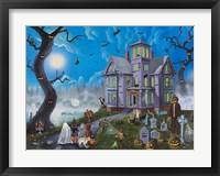 Framed Spooky Manor