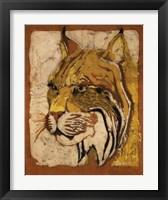 Framed Lynx Batik
