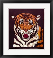 Framed Tiger Batik