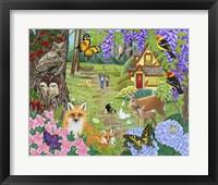 Framed Spring Joy
