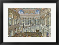 Framed Library Of Congress, Washington DC