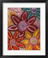 Framed Bold Flowers