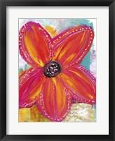 Framed Bright Daisy