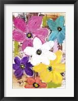 Framed Garden Of Colour