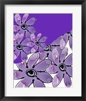 Framed Multi Floral