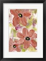 Framed Playful Floral